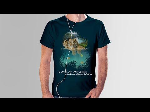 3D T-Shirt Design Photoshop cc Tutorial