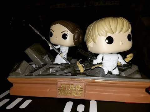 Star Wars Funko Trash Compactor Movie Moments Unboxing!!