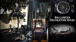 GOTHIC / HALLOWEEN DECORATING IDEAS / Party Decor