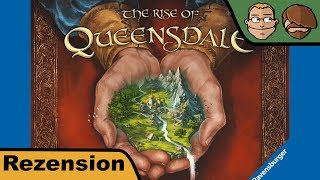 The Rise of Queensdale - Brettspiel - Review - spoilerfrei