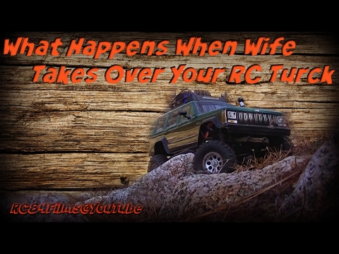 RC84 Films: Wife Takes Over My RC Truck