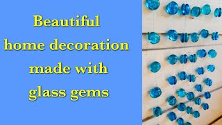 DIY Craft|Glass Gems Craft|Sun Catcher|Wall Decor|