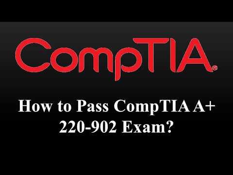 CompTIA A+ 220 902 Exam Dumps