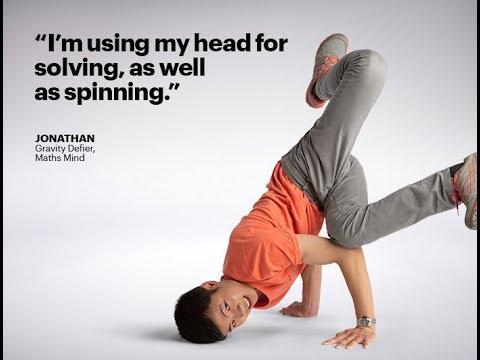 Jonathan: Gravity defier, maths mind