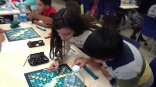 preview picture of video 'II Torneig de Scrabble  Interinstituts de L'Hospitalet 2015'