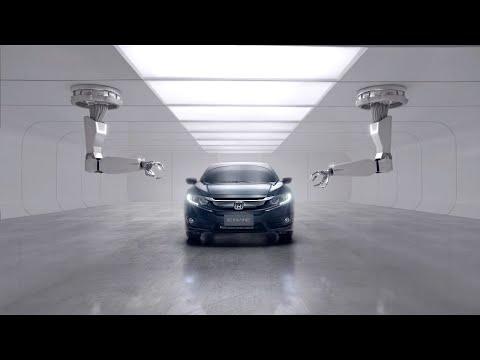 Honda Civic 4d Седан класса C - рекламное видео 4