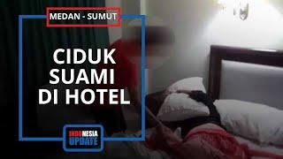 Istri Ciduk Suami Tidur Bareng Wanita di Kamar Hotel, Ternyata Selingkuh dengan Temannya