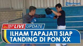 PON XX PAPUA: Atlet Tinju Ilham Tapajati Siap Persembahkan Medali di PON Papua untuk Babel & TNI AU