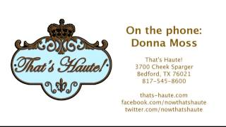 Donna Moss Of Donna Decorates Dallas About Her Thats Haute! Boutique - January 2013