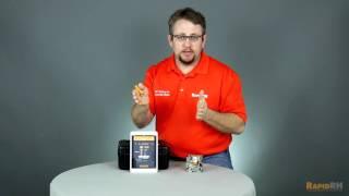 Using the Rapid RH® Smart Reader with 4.0 EX Smart Sensors
