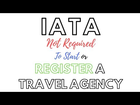HOW TO START A TRAVEL AGENCY | IATA COURSES