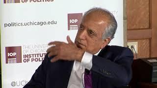 Former U.N. Ambassador Zalmay Khalilzad