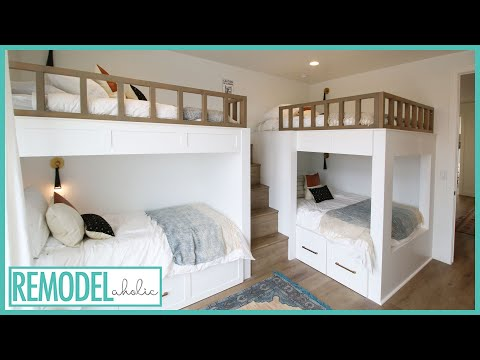 Cool Bunk Bed Room Ideas for Kids | Room Tours