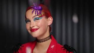Nivea Tutorial: Reina del glitter en Halloween con NIVEA MicellAIR Professional #ByeByeMaquillaje anuncio