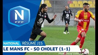 National : Le Mans FC / SO Cholet (1-1)