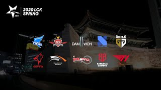 GEN vs. HLE - DRX vs. T1 [2020 LCK Spring Split]