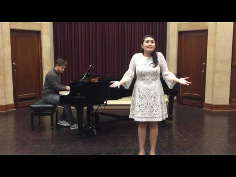 a folk song from the musical Bridges of Madison County