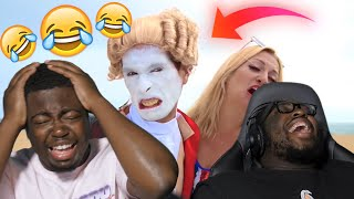 BRANDON ROGERS HAS GONE TOO FAR! | A Day at the Beach @Brandon Rogers REACTION