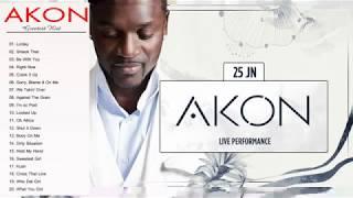 Akon Greatest Hits Full Album--The best songs of Akon Nonstop Playlist