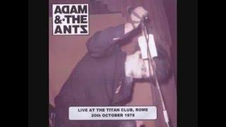 Adam & The Ants - Rome 1978