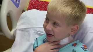 Emmett Rauch has trach removed at Cincinnati Children's