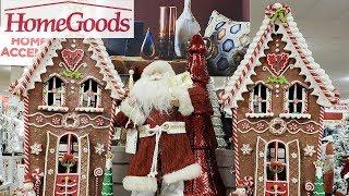 homegoods christmas decor shop with me 2018