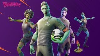 *NEW* DEAD BALL SET - ZOMBIE SOCCER SKINS - Item Shop October 26th