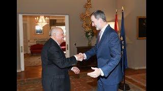 S.M. el Rey se reune con la colectividad española en Uruguay