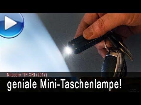 geniale Mini-Taschenlampe für den Schlüsselbund!