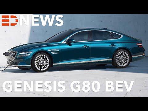 2021 Genesis Electrified G80   So groß wie eine E-Klasse, aber mit 800V Technik! Electric Drive News