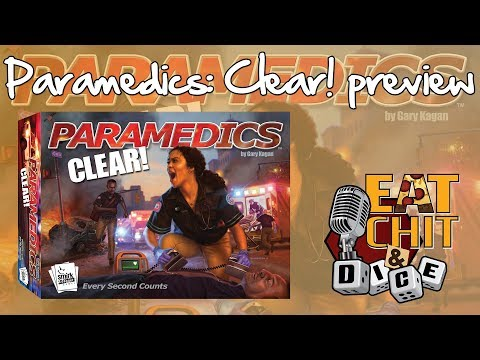Eat Chit & Dice - Interview with Smirk & Dagger's Curt Covert - Paramedics: Clear!
