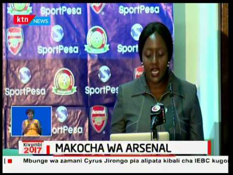 Wakufunzi wa soka kutoka timu ya Arsenal wazuru nchini kutoa mafunzo kwa wachezaji