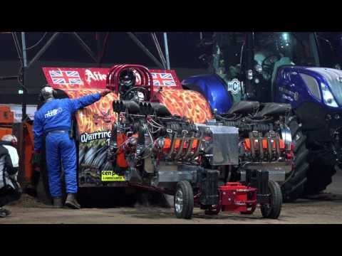 Unlimiteds Indoor Tractor Pulling Rotterdam Ahoy 2017 by