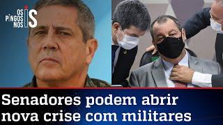 CPI discute convocar general Braga Netto para depor