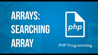 Searching array value PHP Tutorial