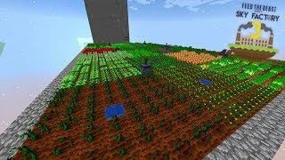 O FAZENDEIRO INSANO!!! 2 DESAFIOS EM 1 VIDEO!!! - Minecraft Skyfactory 56