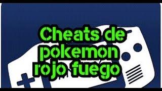 Cheats Para My Boy ( Pokémon Rojo Fuego)