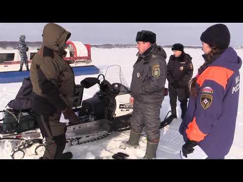 В зоне риска - снегоходы! Профилактические рейды по льду водоёмов Республики Татарстан