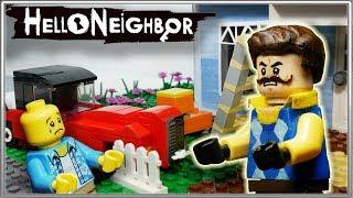 LEGO Мультфильм Привет Сосед / LEGO Stop Motion Hello Neighbor