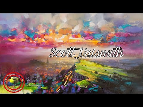 Oil over acrylic painting techniques and tutorial with Scott Naismith I Colour In Your Life