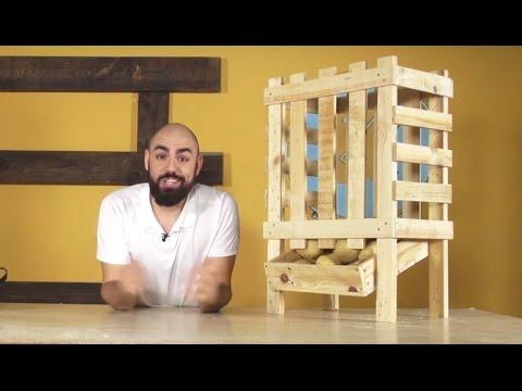 Cómo hacer un bonito verdulero con palets | Re-Crea Palets