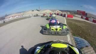preview picture of video 'Karting Vic Craksracing.com Final A 2/3/2014 [Royo]'