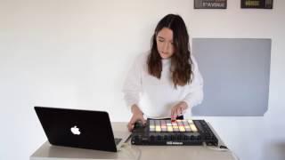 Allya - My first Ableton Push Live Performance