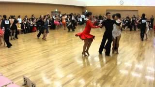 社交ダンス サンバ 決勝 第13回ヤングサークル10ダンス選手権 若者サークル競技会