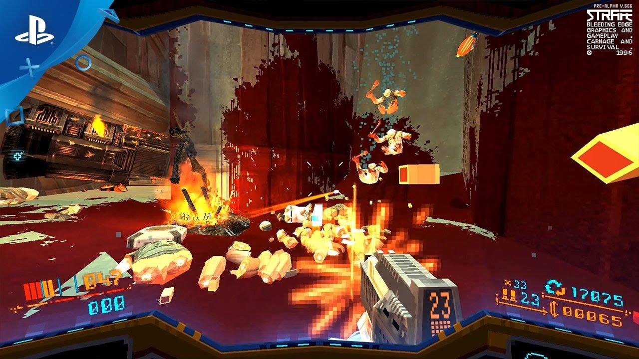 Roguelike Ego-Shooter Strafe erscheint nächstes Jahr für PS4