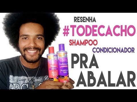 RESENHA: #TODECACHO SHAMPOO E CONDICIONADOR LINHA PRA ABALAR