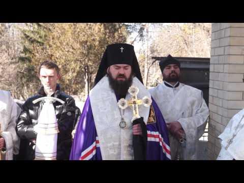 Молитва у могилы иеросхимонаха Стефана (Игнатенко)