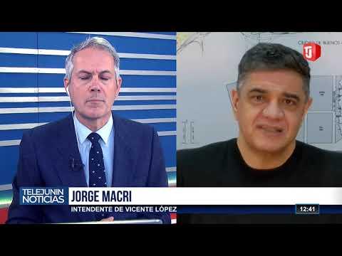 Jorge Macri estuvo en Telejunin