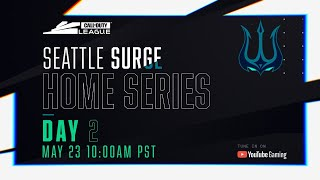Call Of Duty League 2020 Season | Seattle Surge Home Series | Day 2