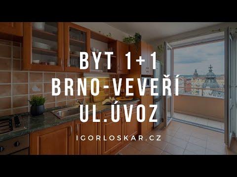 Video z << Prodej bytu 1+1, 42 m2, Brno >>